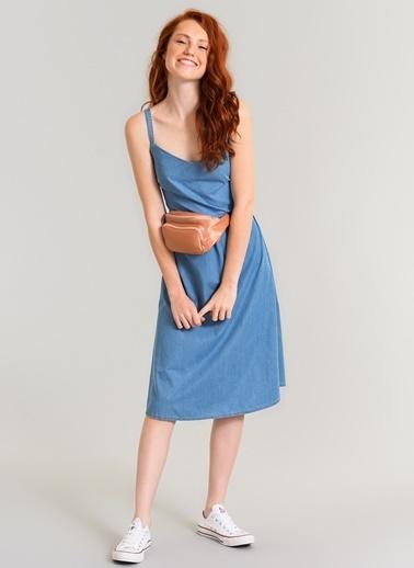 Tensel Askılı Elbise-Agenda